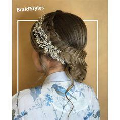 بافت-شینیون هلندی کف سری گوجه ای پشت گردن Chignon Hair, Band, Fashion, Moda, Sash, Fashion Styles, Fashion Illustrations, Bands