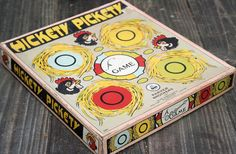 Hickety Pickety 1924 Parker Brothers Game