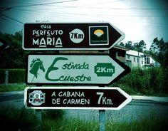 Señales indicadoras a nuestros establecimientos #costadarmorte #turismorural Cabana, Reading, Cabanas, Gazebo