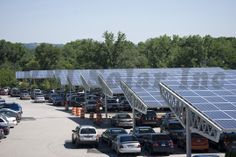Solar carport and Steel frame solar canopies from RBI