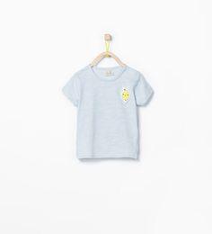 Fruit appliqué T-shirt | Zara