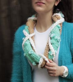 Hey, I found this really awesome Etsy listing at https://www.etsy.com/listing/470028118/handknit-braided-infinity-scarf-chunky
