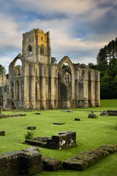 Fountains Abbey.I want to go see this place one day.Please check out my website thanks. www.photopix.co.nz