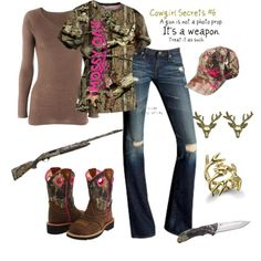 """Hunting"" by srose38 on Polyvore"