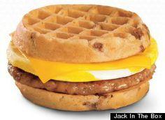 wafle burger