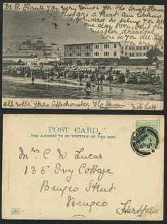 1907 Cape Town fish market