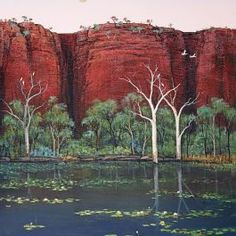 Australian Painting, Australian Artists, Watercolor Artists, Watercolor Paintings, Painting Art, Abstract Landscape Painting, Landscape Paintings, Perth Western Australia, Landscape Concept