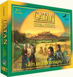 The Settlers of Catan: Cities & Knights expansion 5-6 player extension*