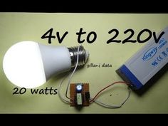 How to Make a simple 3.7v to 220v ac to dc power Inverter at home [DIY] - YouTube