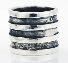 Contemporary, robust and modern - this is our Miglio Man ring collection. Jenny Miller, Man Ring, Men's Collection, Contemporary, Modern, Timeless Fashion, Jewelery, Rings For Men, Silver Rings