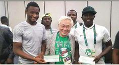Welcome to ZettaBlog.com: JAPANESE MAN WHO GAVE NIGERIA'S DREAM TEAM MONEY A...