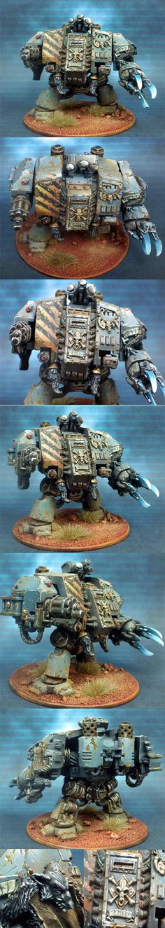 The Internet's largest gallery of painted miniatures, with a large repository of how-to articles on miniature painting Warhammer 40k Space Wolves, Warhammer 40k Figures, Warhammer Paint, Warhammer 40k Miniatures, Warhammer 40000, Wolf Time, Wolf Painting, Tyranids, War Hammer