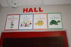 Hallway poster