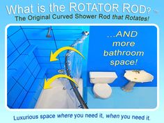 Rotating Shower Rod Ad Gif