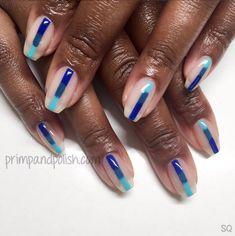 Spring Manicures on Instagram   Bye bye winter blues!