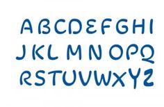 Rio 2016 Font Uppercase