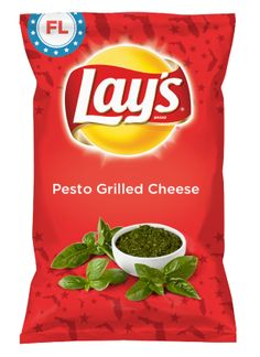 Wouldn't Pesto Grilled Cheese be yummy as a chip? Lay's Do Us A Flavor is back, and the search is on for the yummiest chip idea. Create one using your favorite flavors from around the country and you could win $1 million! https://www.dousaflavor.com See Rules.