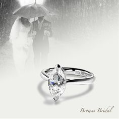 Browns Bridal. A collection of Engagement Rings. The Marquise Diamond Ring