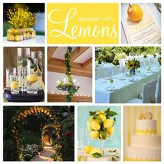 Another great non-floral centerpiece idea!