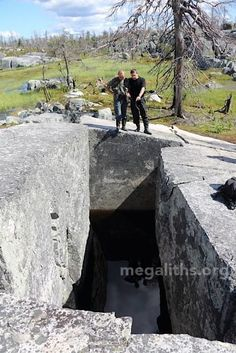 Vottovara Megalithic Stones and Stone Sphere, Russia. Who and how did these solid Granite Stones get cut with the precision of a Laser Cutter? Ancient Alien Technology?