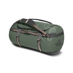 The North Face Base Camp Duffel - Large Thyme/Falcon Duffel Bag, Backpack Bags, Three Day Weekend, Barrel Bag, The North Face, North Faces, Gym Bag, Camping, Backpacks