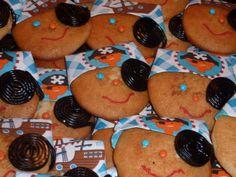 piraten traktatie gemaakt van een eierkoek Kids Meals, Treats, Decorations, Cookies, Drinks, Children, Desserts, Food, Pirates
