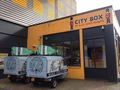 City Logistics bij City Box Amsterdam Zuid