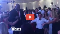 Shaquille O'Neal dances the hora at a Jewish wedding and it's something you gotta see