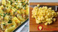 Smotanové zemiaky zapečené s kuracími stehienkami! Macaroni And Cheese, Ethnic Recipes, Mac And Cheese
