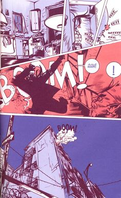 Paul Pope art for Heavy Liquid