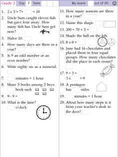 math worksheet : mental math grade 2 day 8  mental math  pinterest  mental maths  : Grade 2 Mental Math Worksheets