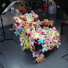 """""""Surrounded by Love Plush Armchair"""" from Fuzzy Nation!!! 20% of the proceeds are donated to help homeless pets! This would make the greatest gift ever!"""
