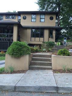 side steps to front door