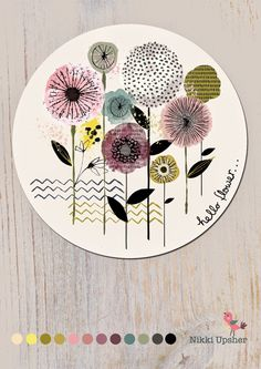 buttercup and dot: Lilla Rogers MATS PART 1- The brief was to design a collection of plates.