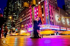 New York City Engagement Photos by Elario Photography Inc. This engagement shoot was shot in New York City, New York.