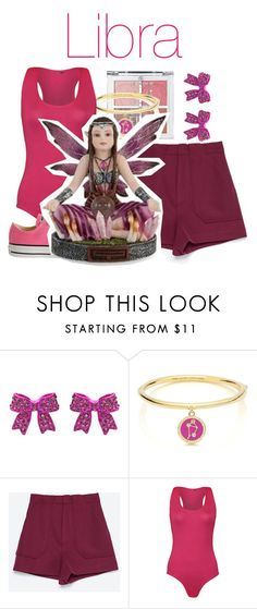 """""""Libra Fairy-Les Alpes"""" by blueangel16-001 ❤ liked on Polyvore featuring Kate Spade, Zara, WearAll and Converse"""