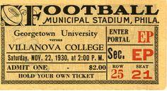 GU vs. VC Football 1930