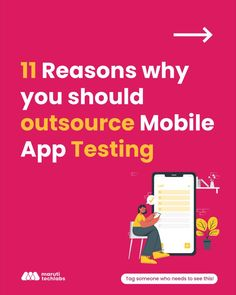 The #success of your mobile app, or any software for that matter, primarily depends on its performance, functionality, usability, & #security. The process of #testing these factors can decide the fate of your app. Outsourcing mobile app testing to experts ensures #quality, & at the same time, saves you time & cost. Previously, mobile app testing outsourcing was primarily done to cut costs, but now it has become an efficient way to achieve better #business outcomes. Click the link. #software… Mobile App, Save Yourself, Software, Engineering, Mobile Applications, Technology