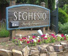 Seghesio - one of our favorite wines (and places)!
