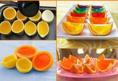 I FRUKTSKALL: Det finnes ingen god grunn til å kaste fruktskallet.