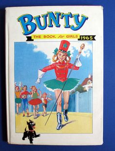 1965 Bunty Book for Girls Hardback with Dust Jacket Selling on eBay