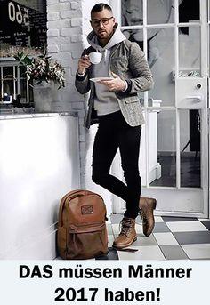 Männer Trends, Herrentaschen, Trends 2017, Taschen Männer, Ledertaschen, Rucksack