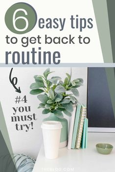Getting back to daily routine is not always easy. Here are 6 tips for all moms to get back to regular life after a break like Christmas or summer vacation. #routine #timemanagement #dailyroutine #backtoroutine