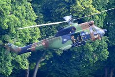 French Army Aviation (ALAT) SA330 Puma helicopter, Photo : André Bour