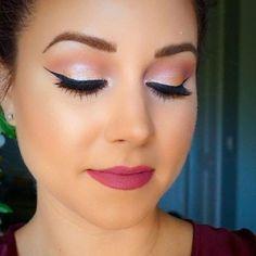 50 Best Makeup Ideas For Valentines Day Makeup Graduation Makeup - Makeup İdeas Graduation Wedding Makeup Tips, Natural Wedding Makeup, Wedding Makeup Looks, Bridal Makeup, Wedding Ideas, Contour Makeup, Contouring And Highlighting, Beauty Makeup, Makeup Morphe