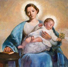 icono de María Auxiliadora - Buscar con Google