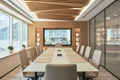 Corporate Office Design, Modern Office Design, Corporate Interiors, Office Interior Design, Office Interiors, Office Ceiling Design, Conference Room Design, Cool Office Space, Architect Design