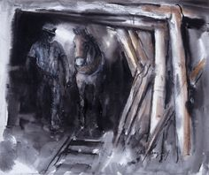 Valerie Ganz - Dai and Prince #welshart #mining