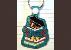 Whimsy Embroidery lots of key fobs http://www.whimsyembroidery.com/