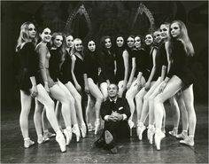 """aurelie-dupont: """" George Balanchine and NYCB ballerinas """" George Balanchine, Ballet Images, Ballet Photos, Ballet Pictures, Ballet School, City Ballet, Book Images, Dance Photography, Just Dance"""